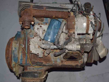 Контрактный двигатель NISSAN DIESEL ED30