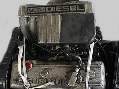 Контрактный двигатель ISUZU 4FB1