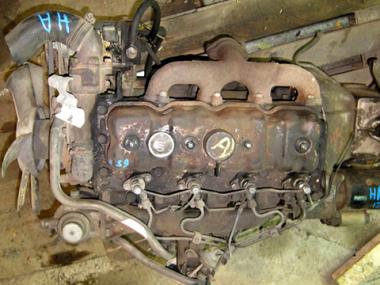 Контрактный двигатель MAZDA HA-T