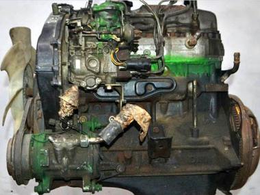 Контрактный двигатель MMC MITSUBISHI 4D55-T