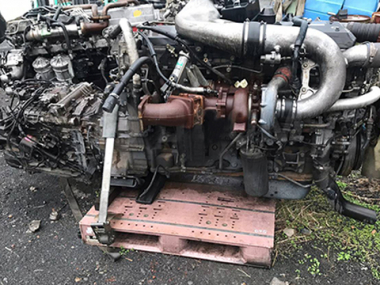 Контрактный двигатель NISSAN DIESEL GE13-TB