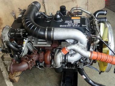 Контрактный двигатель NISSAN DIESEL GE13-TC