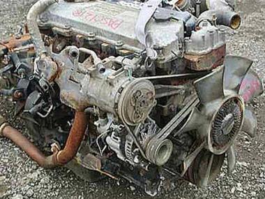 Контрактный двигатель ISUZU 4HG1