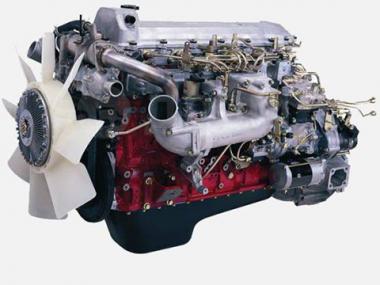 Контрактный двигатель NISSAN DIESEL J08E