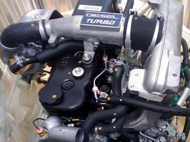 Контрактный двигатель ISUZU 4JA1-TC
