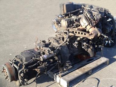 Контрактный двигатель NISSAN DIESEL NF6-TA