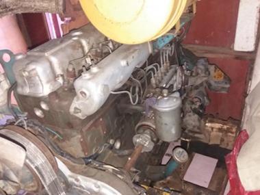 Контрактный двигатель NISSAN DIESEL PD6, PD6-T, PD6H