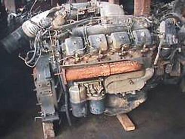 Контрактный двигатель NISSAN DIESEL PE6