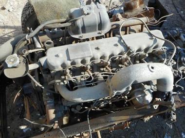Контрактный двигатель NISSAN DIESEL FD6-T