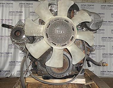 Контрактный двигатель MMC MITSUBISHI 4D33