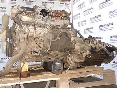 Контрактный двигатель MAZDA TITAN 4HF1